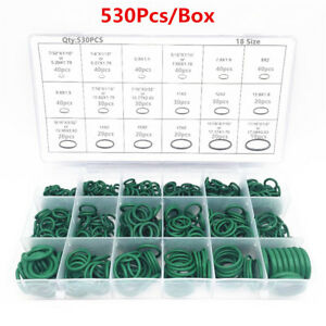 530x Car R134a O-ring Repair Automotive Air Conditioning Repair Rubber Seals Kit