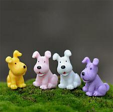 4pcs/set Mini Big ear Dogs Cute Garden Pots DIY Ornament Micro Landscape Craft