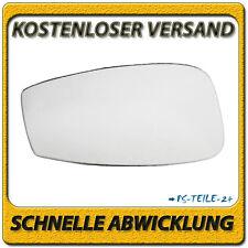 Außenspiegel Spiegelglas für FIAT IDEA 2003-2008 links Fahrerseite konvex