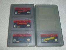 GAMEBOY ADVANCE CLASSIC NES SERIES GAME LOT MARIO BROS ZELDA II LINK DONKEY KONG