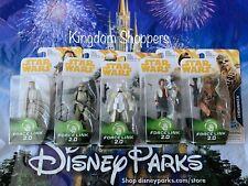 5 Piece Hasbro Star Wars Force Link 2.0 Figure Lot Luke Stormtrooper Chewbacca