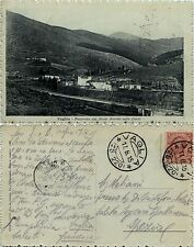 Vaglia, firenze, panorama con monte morello nello sfondo, 1915