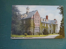 1908 VINTAGE WELLINGBOROUGH GRAMMAR SCHOOL - NORTHAMPTONSHIRE POSTCARD
