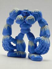 Monster Rancher Figure - 1999 B Blue - Playmates PVC Anime Mini Rock Golem Titan