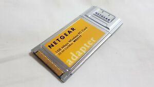 Netgear wg511t WG511T 108 Mbps Wireless PCMCIA PC Card ONLY Grade A