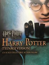 Star Ace Harry Potter y el prisionero de Azkaban adolescente negro Zapatos 1/6th Escala