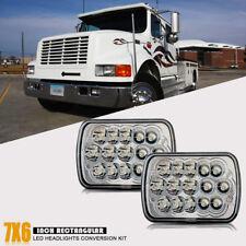 "2x 7x6"" LED Headlight Hi/Lo Beam For International Harvester 4700 4800 4900 8100"