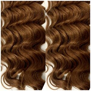 TWO (2) Model Model Gance Braid New York Crochet LatchHook Hair Extension Weave