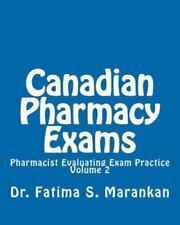 Canadian Pharmacy Exams: Pharmacist Evaluating Exam Practice (Volume 2)