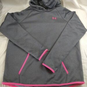 Under Armour Storm1 ColdGear Hoodie Loose Pullover Sweatshirt Women's Size Large