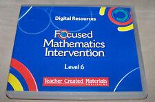 Focused Mathematics Intervention Level 6 Teacher Created Materials Digital Resou