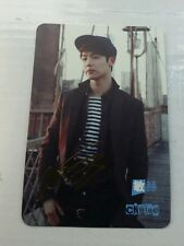 Cnblue minhyuk gold etched yes card photocard kpop k-pop u.s seller