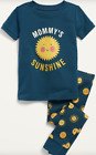 OLD NAVY TODDLER GIRL MOMMY SUNSHINE PRINT PAJAMA SET. NEW WITH TAG.