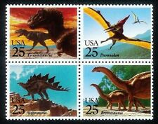 #2422-25~DINOSAURUS~PREHISTORIC ANIMALS~ Block of 4 MNH