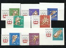 HUNGRIA . Año: 1963. Tema: OLIMPIADAS DE INVIERNO EN INSBRUCK-1964.