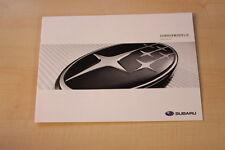 70712) Subaru Forester Outback Impreza WRX Sondermodelle Prospekt 03/2007
