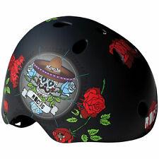 Roces Calavera Helmet Skate half Shell Hard Case Inline Skating Bike