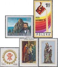 Polen 2460,2471,2472,2473-2474 (kompl.Ausg.) postfrisch 1976 Czekanowski, Gießer