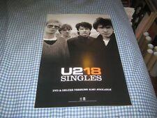 U2-U218-Singles-1 Poster-11X17-Nmint-Rare