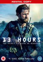 13 Hours: The Secret Soldiers of Benghazi (DVD, 2015) NEW SEALED UK RENTAL COPY