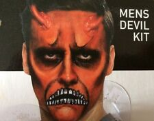 Devil Adult HORROR FX MAKE UP Aqua FACE PAINT KIT HALLOWEEN FANCY DRESS COSTUME