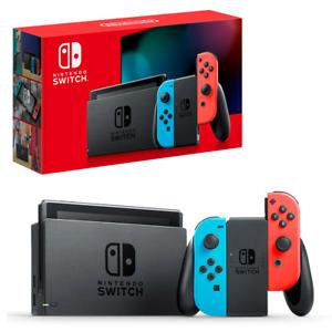 Nintendo Switch Neon Joy-Con Console NEW