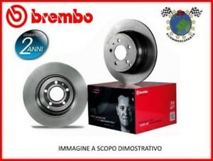 Kit Coppia Dischi Freno Brembo Ant Per Lamborghini Diablo #Ns