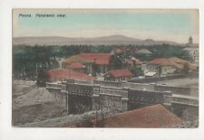 Poona Panoramaic View India Vintage Postcard 835a