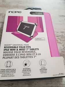 """Incipio Reversible iPad Mini (And Most 7"""" Tablets) Pink Case"""