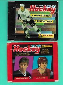(2) WRAPPER NHL HOCKEY PANINI LA KING WAYNE GRETZKY  (V3539)