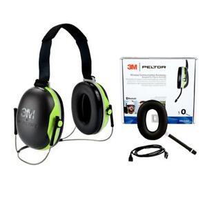 3M Peltor X4B Neckband Earmuffs with Bluetooth Communication Accessory Kit