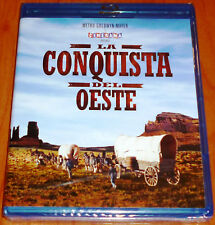 LA CONQUISTA DEL OESTE / HOW THE WEST WAS WON - BLURAY AREA B/2 - Precintada