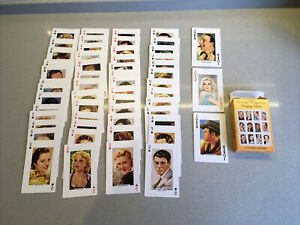 Screen Legends Playing Cards. 1991 U.S. Games Systems Inc. Hollywood Movies Film