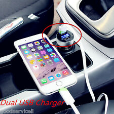 Car Charger Adapter Voltage Dual USB DC 5V 3.1A Tester For iPhone Samsung phone
