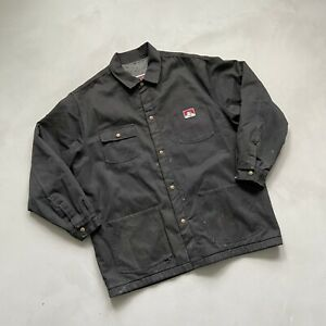 Vintage Ben Davis Fleece Lined Work Jacket Size XXL.