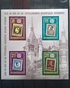 Rumänien 2006 Block Dynastie Hohenzollern postfrisch Stamp on Stamp