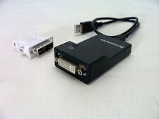 Lenovo USB 3.0 DVI/VGA Monitor Adaptor - New.