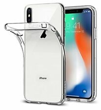 Spigen Coque iPhone X, [Liquid Crystal] Ultra Fine TPU Silicone [Crystal Cl