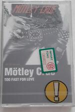 Mötley Crüe – Too Fast For Love MC SIGILLATA SEALED NEW CASSETTE rare