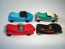 EUROPEAN LIMOUSINES 1932-1935 VINTAGE MODEL CARS SET 1:87 H0 KINDER SURPRISE