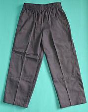 NEW school uniform trousers double knee pants Grey size 5,6,7,8,10,12,14,16