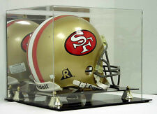 SAF-T-GARD FULL SIZE NFL FOOTBALL HELMET DELUXE ACRYLIC DISPLAY CASE - AD03