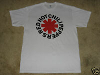 Red Hot Chili Peppers Asterisk Logo S, M, L, XL, 2XL White T-Shirt