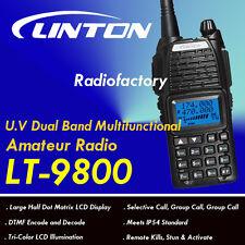 LINTON LT-9800 136-174 400-470Mhz U.V Dual Band Amateur Radio