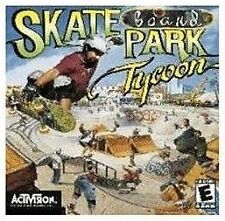 Skate Board Park Tycoon (PC, 2001); Fast Shipping!