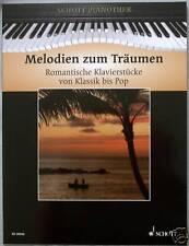 Klavier Noten : Melodien zum Träumen mittelschwer (Pianothek HEUMANN)