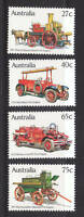 1983 Historic Fire Engines -  MUH Complete Set