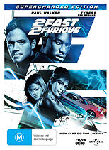 2 FAST 2 FURIOUS - BRAND NEW & SEALED DVD (PAUL WALKER) SUPERCHARGED EDITION