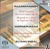 Rachmaninov: Piano Concerto No. 2; Werner Haas Sacd Sealed Multichannel