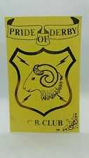CB Radio Ham Qsl Card Pride of Derby Cb Club 1994 Postcard